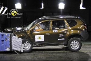 Краш-тест Рено Дастер (Renault Duster)